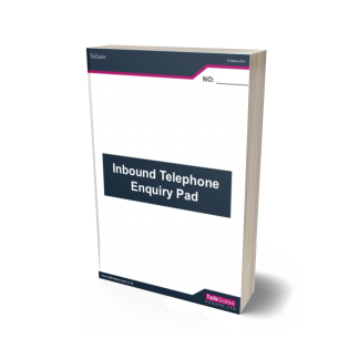 Inbound Talksales Telephone Enquiry Pad